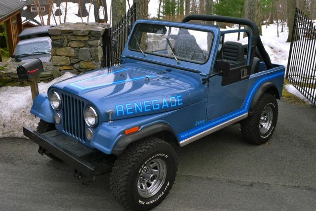 Jeep Cj Renegade Original Paint Low Mileage Survivor