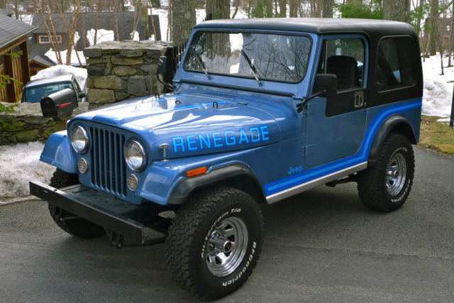 Lifted Jeep Renegade >> 1985 Jeep CJ7 Renegade - Original Paint, Low Mileage ...
