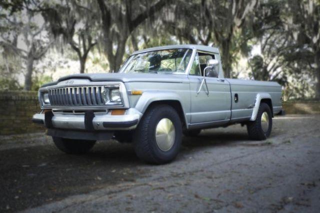 1985 jeep j10 pickup 2 door 5 9l 4x4 classic jeep other 1985 for sale. Black Bedroom Furniture Sets. Home Design Ideas