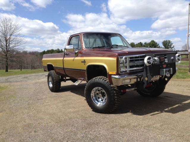 1985 k20 Chevy Silverado Truck 4x4 pickup - Classic Chevrolet C/K Pickup 2500 1985 for sale
