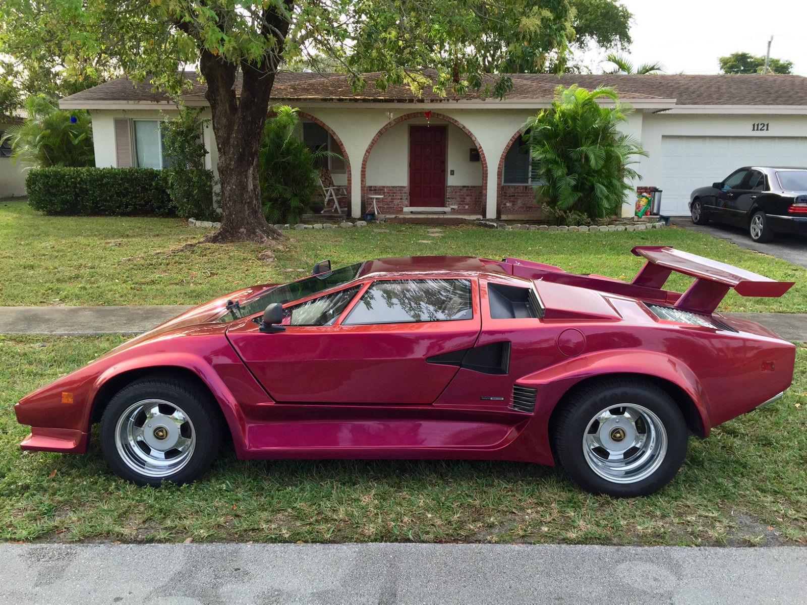 1985 Lamborghini Countach 5000 Replica Classic Replica