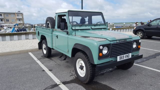Land Rover Wilmington >> 1985 Land Rover 110 (Defender) Hi Cap Pick Up, RHD Diesel - Classic Land Rover Defender 1985 for ...