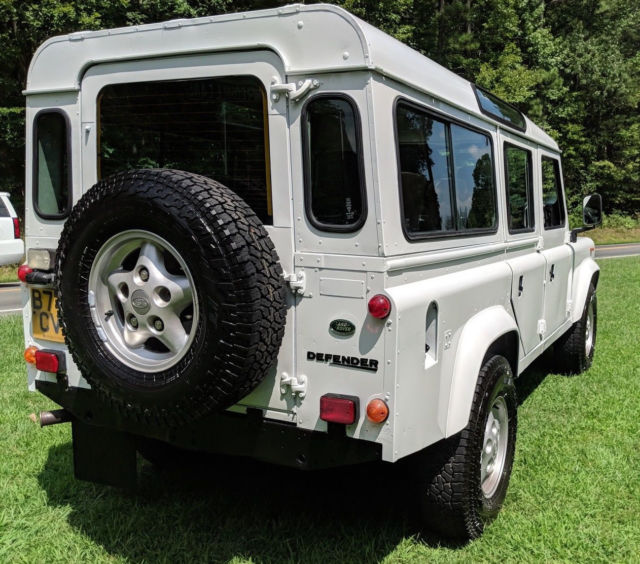 1985 Land Rover Defender 110 V8 County Rebuilt Restored