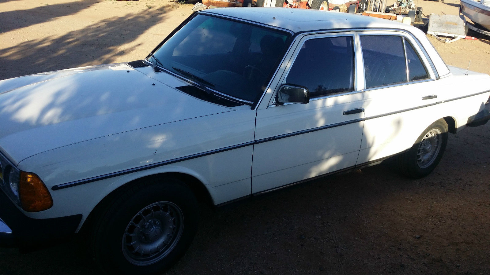 1985 mercedes 300d turbo white with blue interior loaded for 1985 mercedes benz 300d