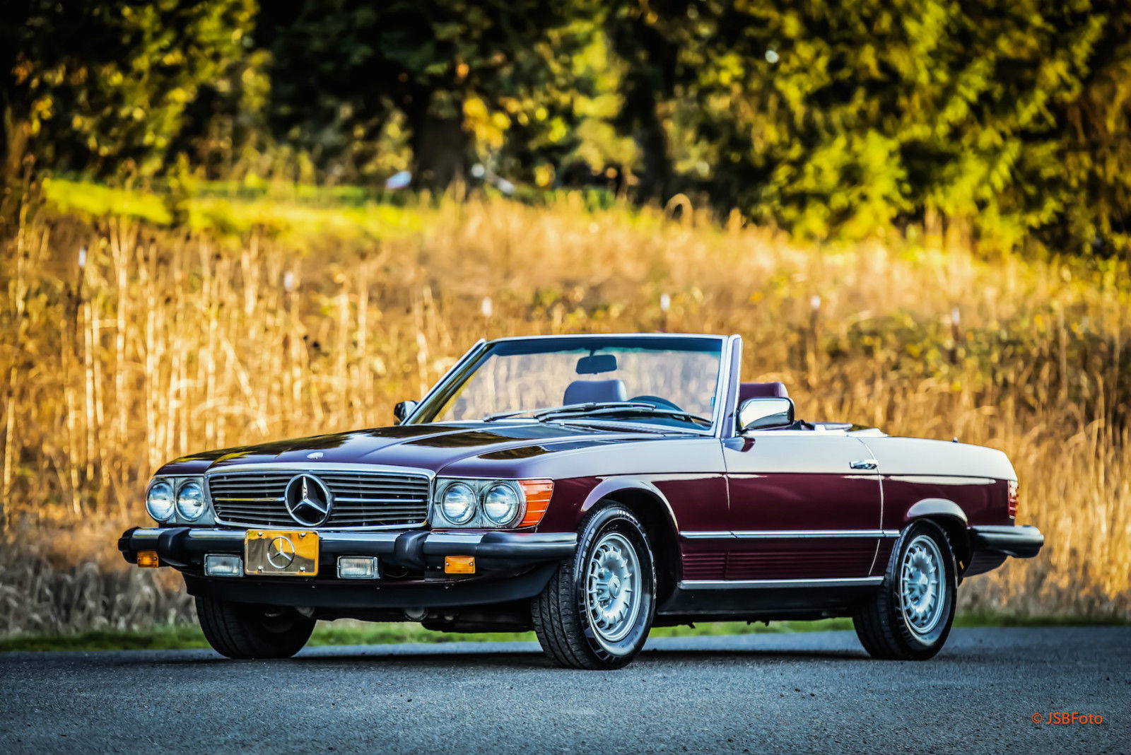 1985 mercedes 380sl roadster convertible 79k miles lots of. Black Bedroom Furniture Sets. Home Design Ideas