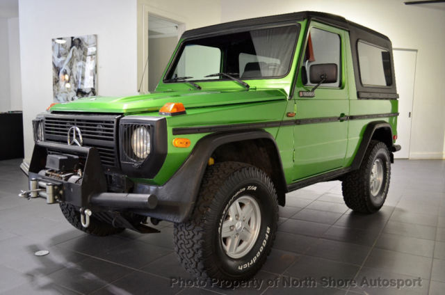Used Mercedes G Wagon For Sale >> 1985 Mercedes-Benz 290GD Diesel G-Wagon Cabriolet 5-Speed ...