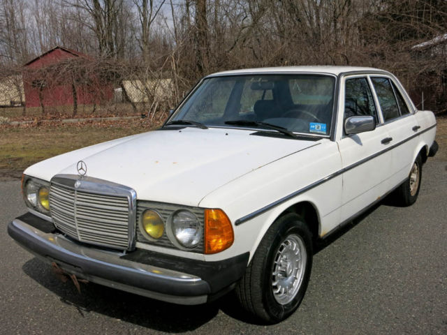 1985 mercedes benz 300d turbo diesel one owner car runs for Mercedes benz 300 diesel