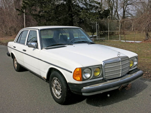 1985 mercedes benz 300d turbo diesel one owner car runs for Is mercedes benz a good car