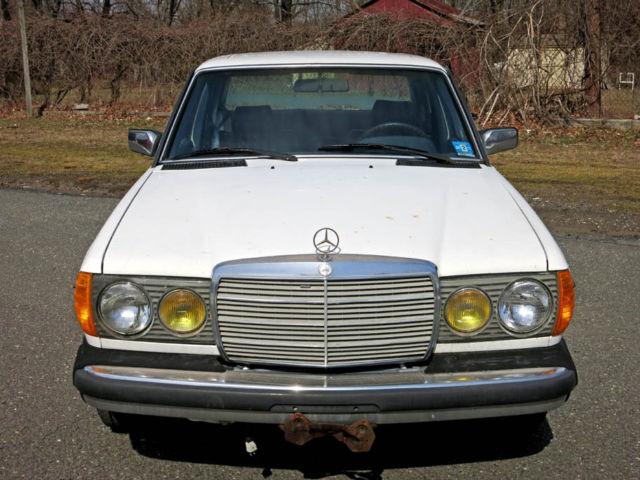 1985 mercedes benz 300d turbo diesel one owner car runs for Mercedes benz diesel cars for sale