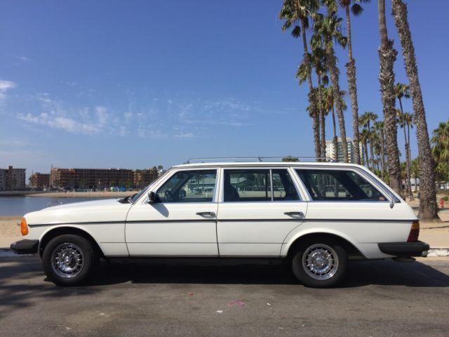 1985 mercedes benz 300td wagon white w blue interior for 1985 mercedes benz 300td wagon for sale