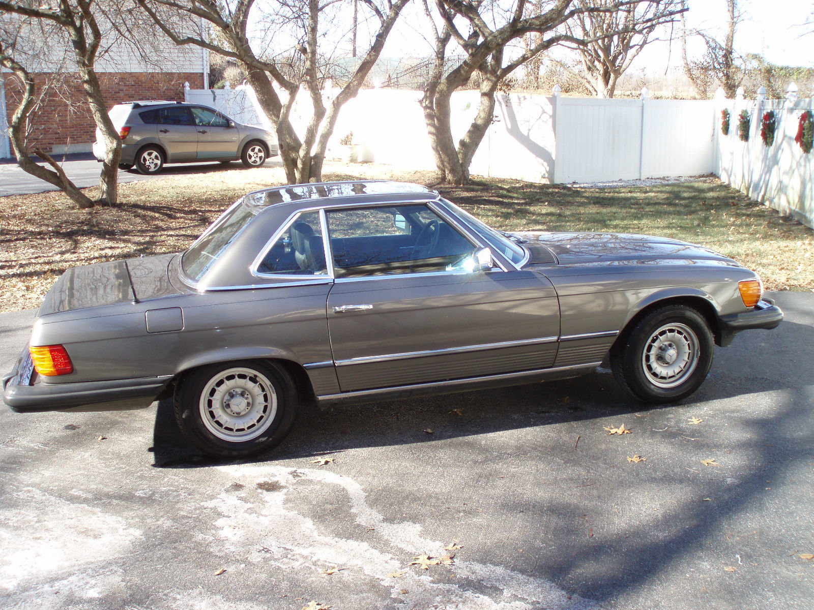 1985 mercedes benz 380sl charcoal gray low mileage garaged for 1985 mercedes benz