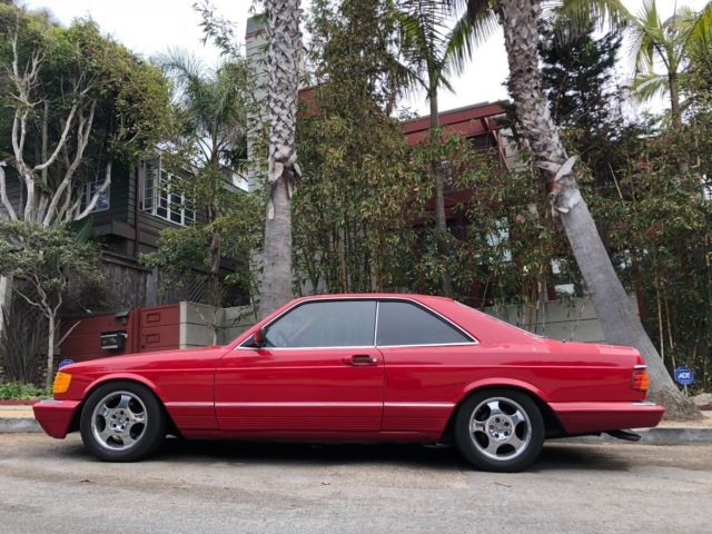 1985 mercedes benz 500 sec 2 door coupe classic mercedes for Mercedes benz 2 door coupe for sale