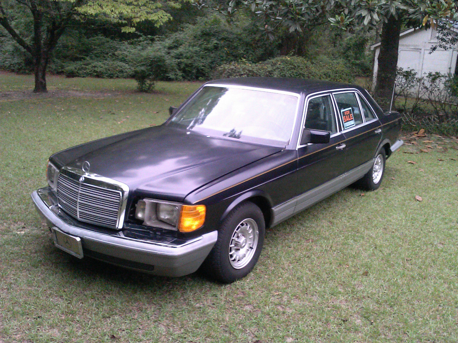 1985 mercedes benz 500sel 4 door sedan 8 cylinder