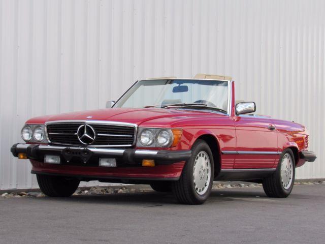 1985 Mercedes Benz 560sl Classic Mercedes Benz 500