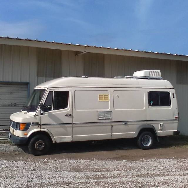 1985 mercedes benz t1 sprinter rv wohnmobil van camper for Mercedes benz camper vans for sale