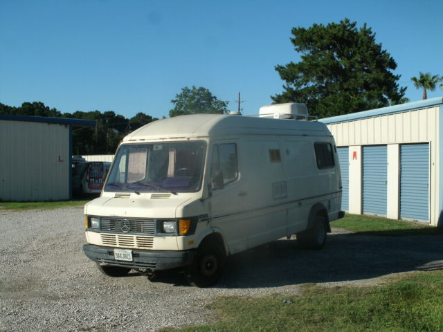 1985 mercedes benz t1 sprinter rv wohnmobil van camper for Mercedes benz recreational vehicles