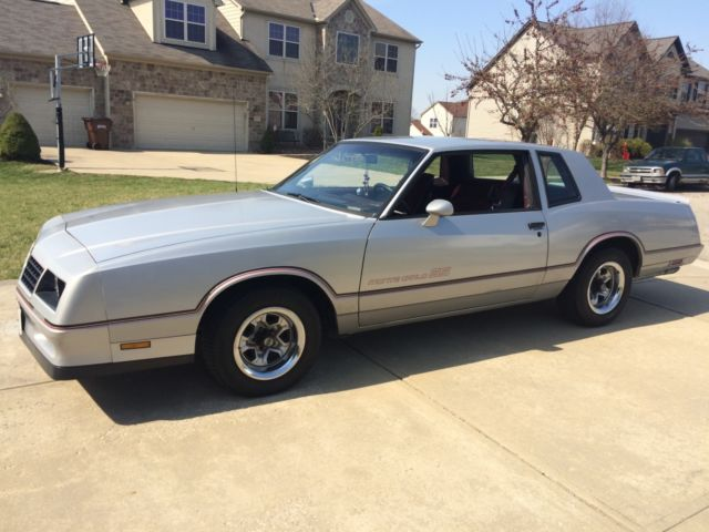 1985 monte carlo ss very nice classic chevrolet monte carlo 1985 for sale. Black Bedroom Furniture Sets. Home Design Ideas