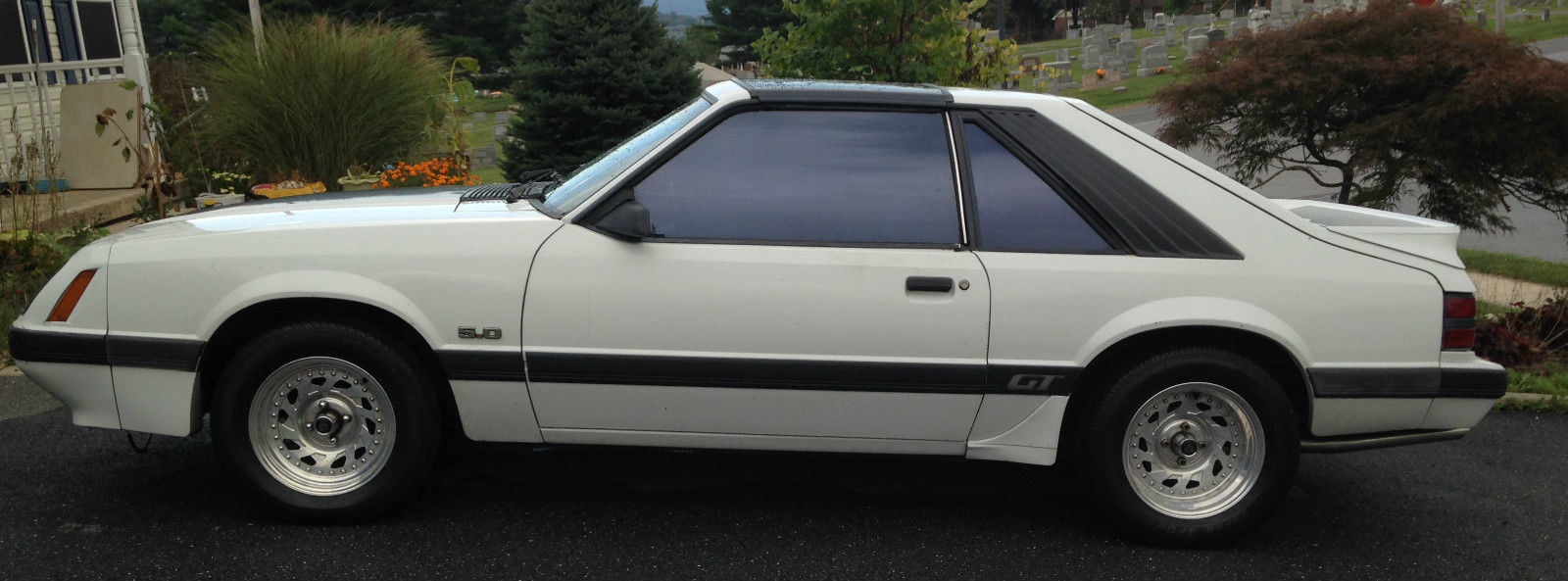 1985 mustang gt w t tops classic ford mustang 1985 for sale. Black Bedroom Furniture Sets. Home Design Ideas