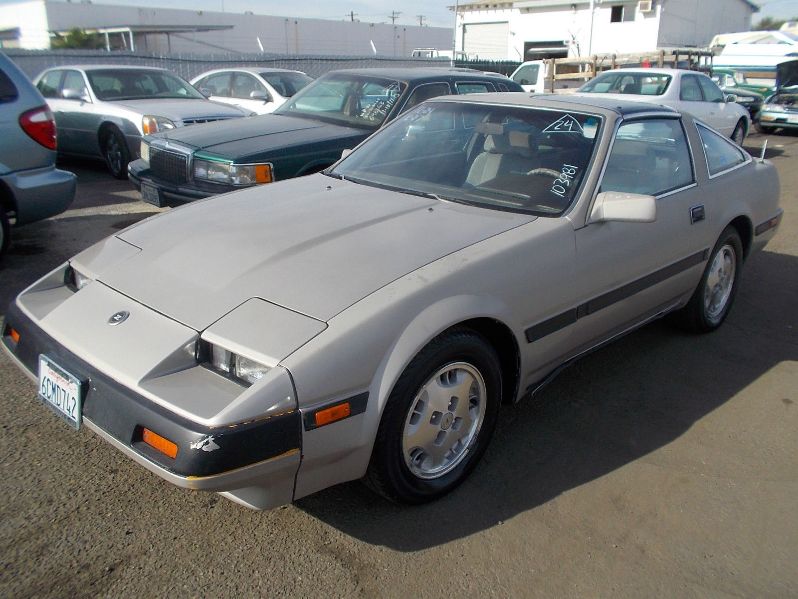 1985 Nissan 300ZX Base Coupe 2-Door 3 0L NO RESERVE