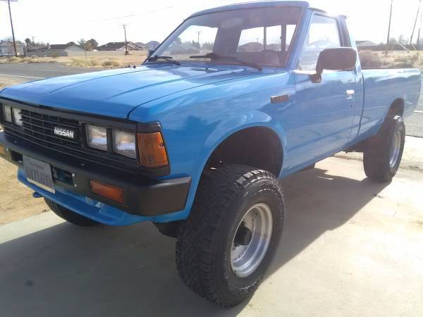 1985 nissan 720 4x4 pickup truck hilux sr5 like toyota. Black Bedroom Furniture Sets. Home Design Ideas