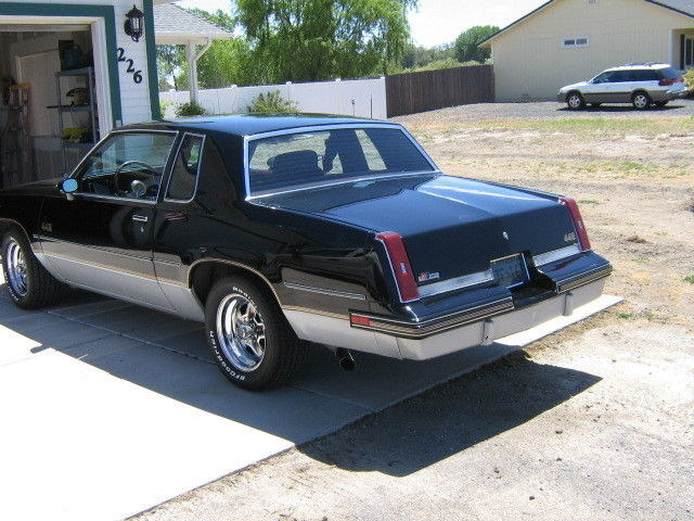 1985 oldsmobile cutlass salon 442 black and silver w for 1985 cutlass salon for sale
