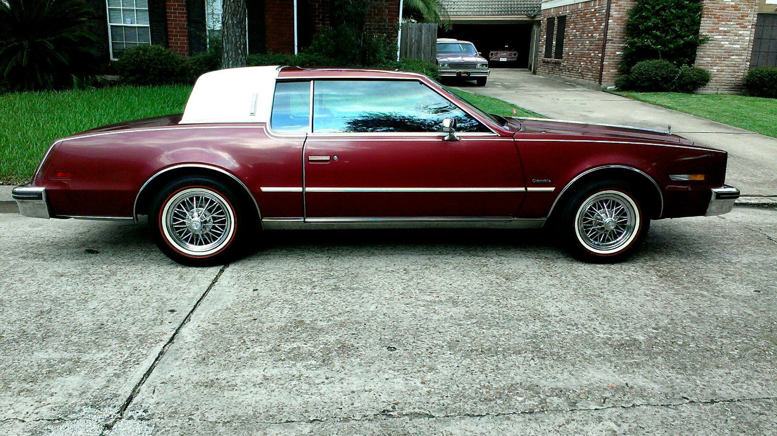 Texan Wire Wheels For Sale | 1985 Oldsmobile Toronado 44k Act Mls Previously A 1 Owner Car Texan