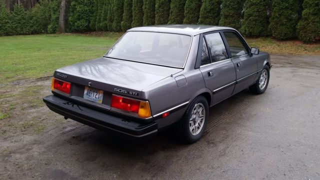 1985 peugeot 505 sti sedan classic peugeot other 1985 for sale. Black Bedroom Furniture Sets. Home Design Ideas