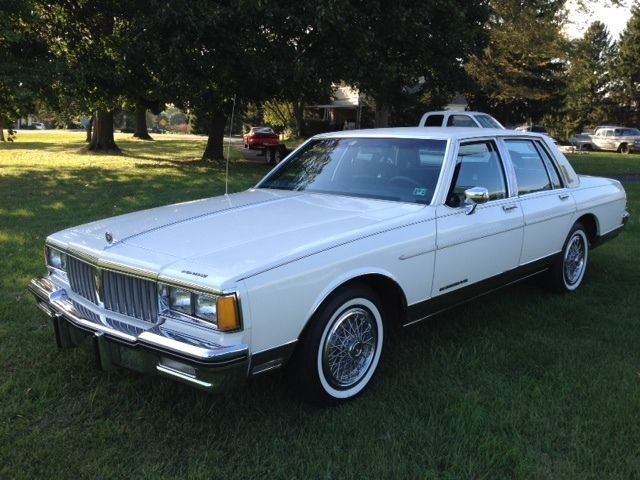1985 pontiac parisienne 4 door