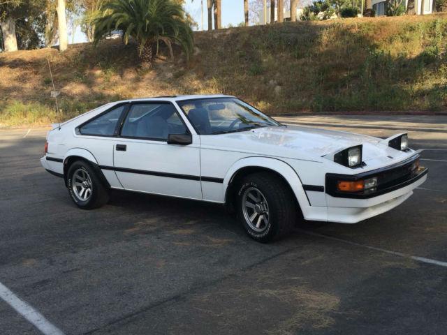 1985 Toyota Celica Supra Hatchback 2 Door 2 8l Classic