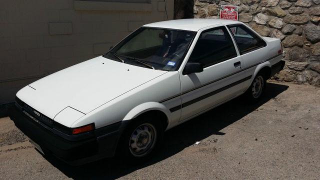 1985 Toyota Corolla AE85 AE86 61,000 Original Miles Clean ...