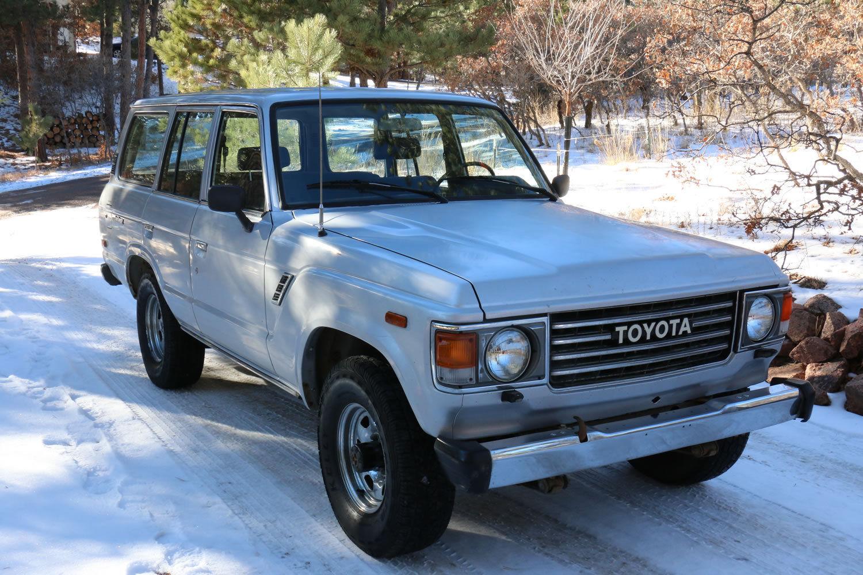 1985 Toyota Land Cruiser Fj60 1 Owner All Original