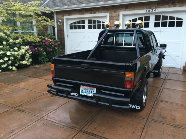 1985 Toyota Sr5 Pick Up Back To The Future Marty Mcfly