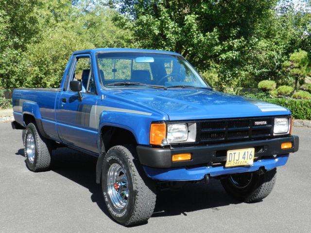 Toyota Turbo Diesel Truck >> 1985 Toyota Sr5 Pickup Truck 4 Cyl Turbo Diesel 2l T 4x4 5