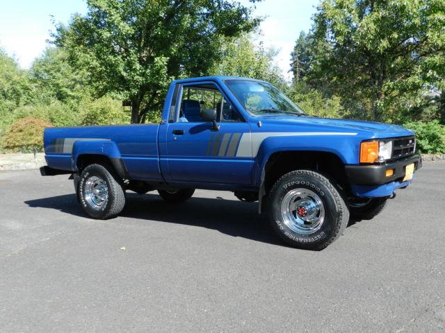 1985 toyota sr5 pickup truck 39 4 cyl turbo diesel 2l t 39 4x4 5 speed straight axle classic. Black Bedroom Furniture Sets. Home Design Ideas
