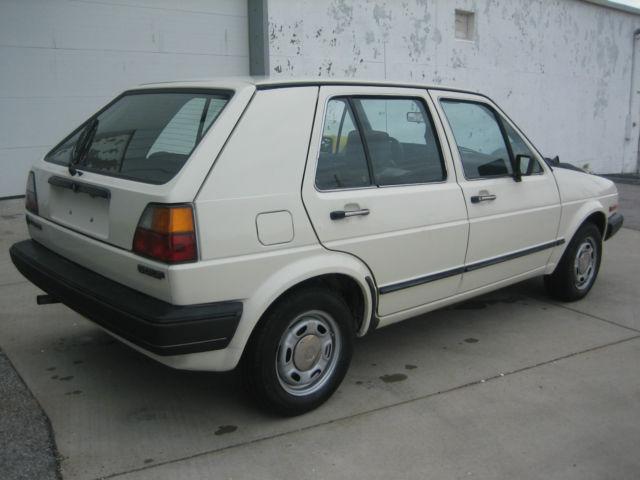 1985 Volkswagen Golf 4 Door Hatchback MK2 Original Low Miles!! - Classic Volkswagen Golf 1985 ...