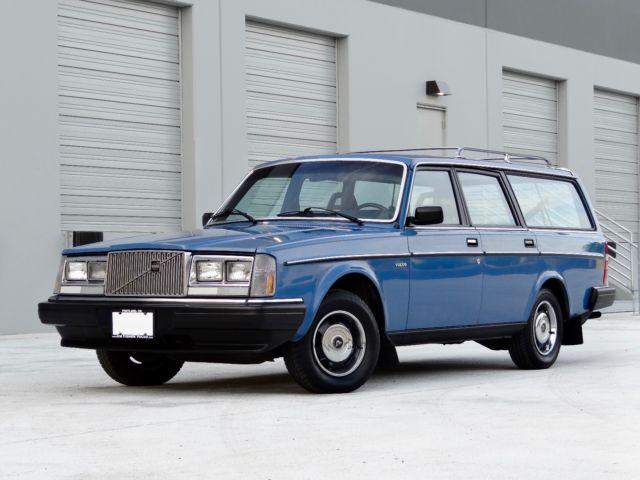 1985 volvo 245 dl wagon classic volvo 240 1985 for sale. Black Bedroom Furniture Sets. Home Design Ideas
