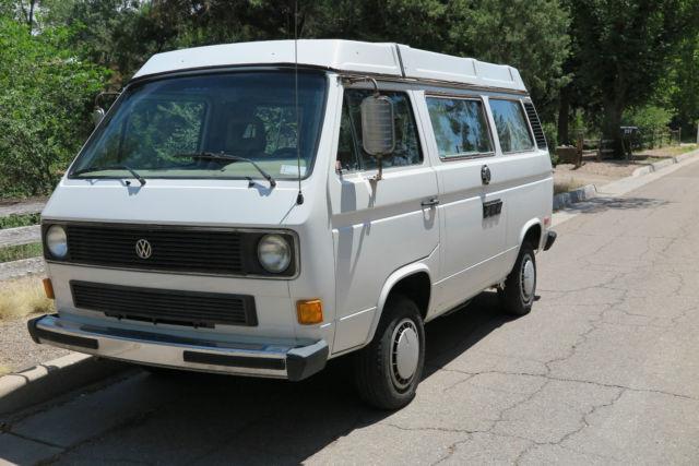 vw vanagon gl westfalia camper van classic volkswagen busvanagon   sale