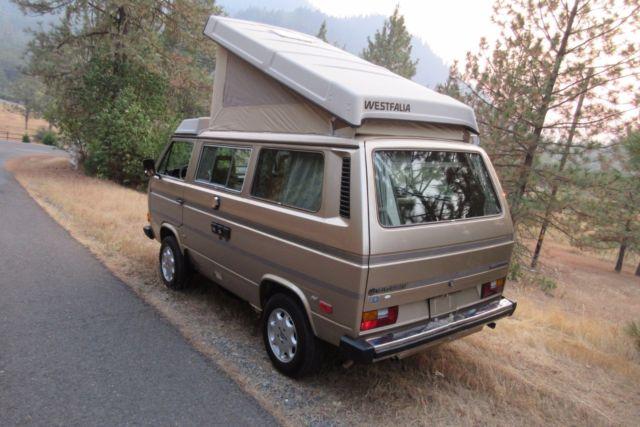 1985 Vw Volkswagen Vanagon Westfalia Full Camper