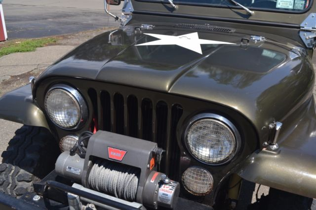 1986 amc cj 7 lots of extras well maintained 85k miles fuel injection kit classic jeep