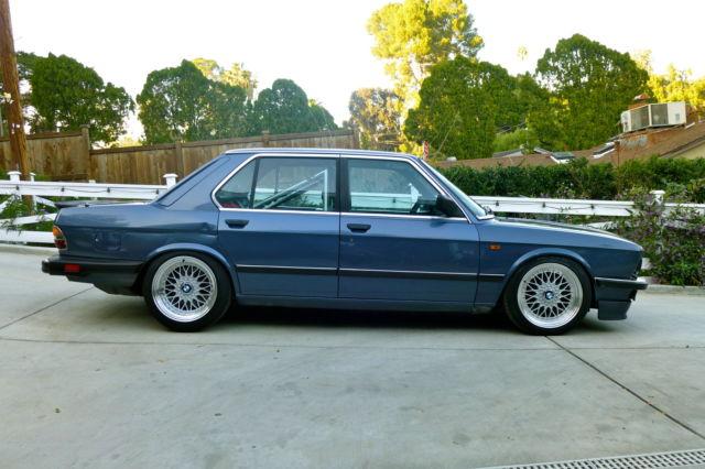 1986 Bmw 528 535i E28 M20 B35 Custom Build Slammed Stanced