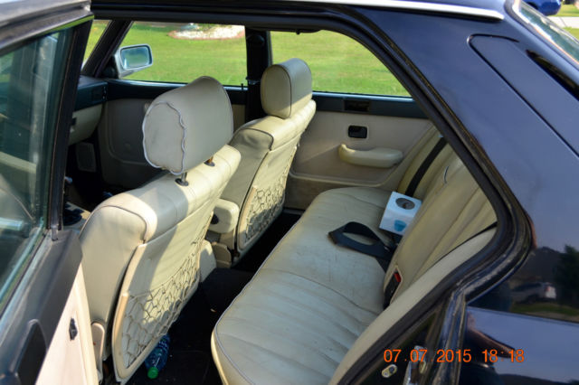 1986 bmw 535i black with tan interior 5spd classic bmw 5 series 1986 for sale. Black Bedroom Furniture Sets. Home Design Ideas