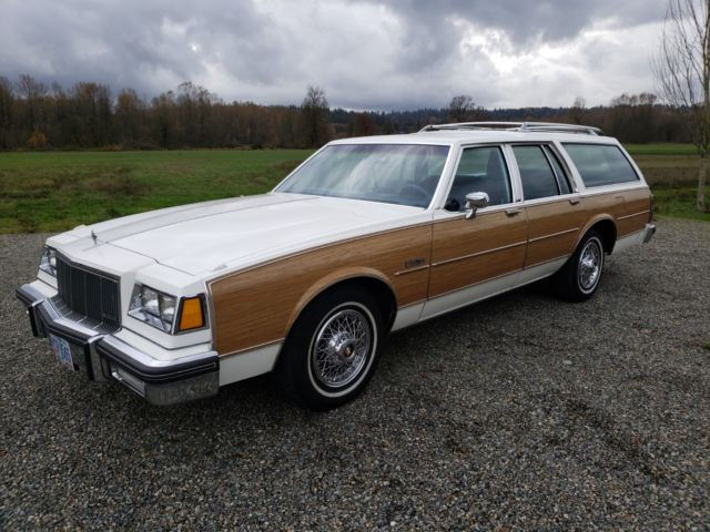 Buick Electra Estate Wagon S Buick Woody Station Wagon Jump Seat
