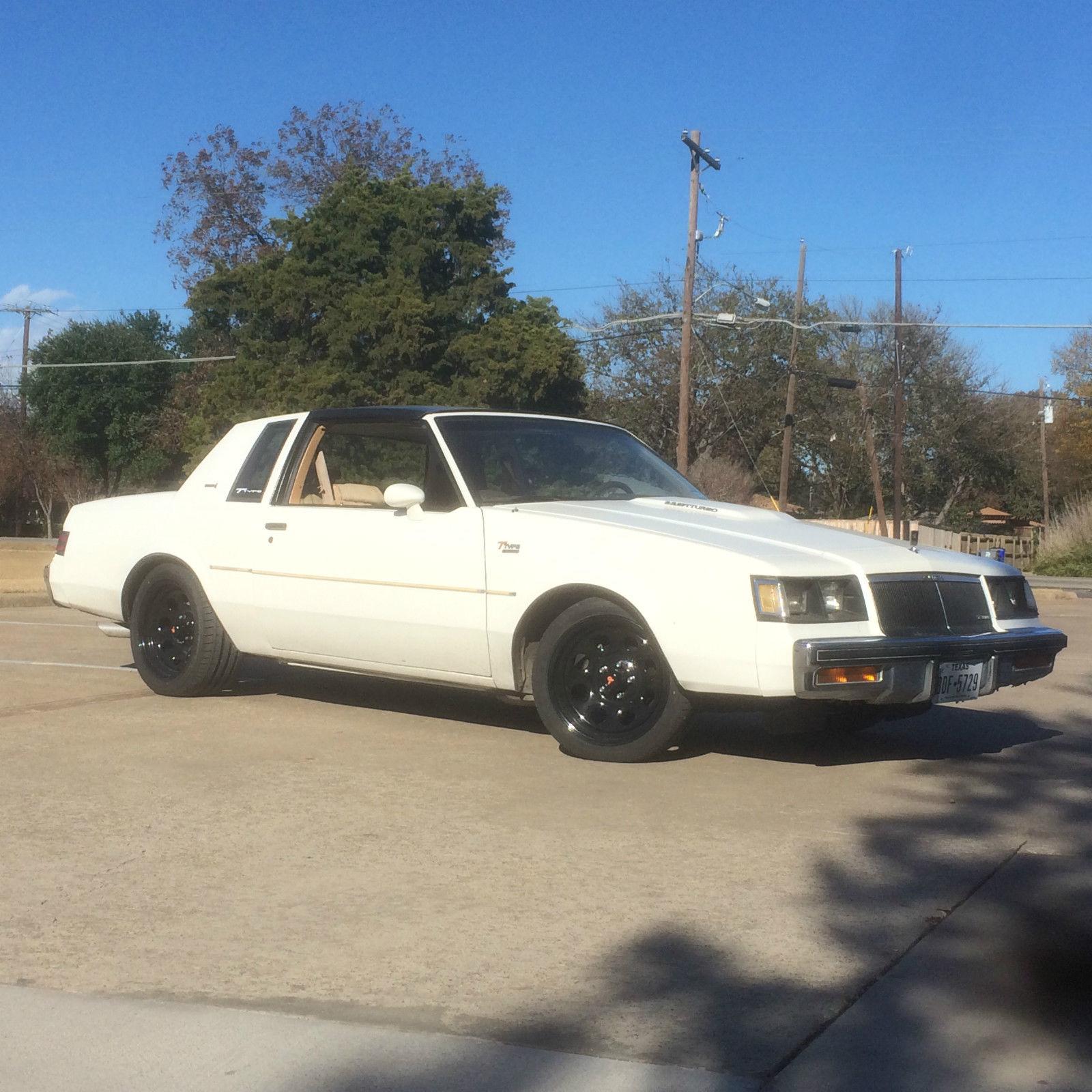 Dallas Buick: 1986 Buick Regal T-Type Coupe 2-Door 3.8L