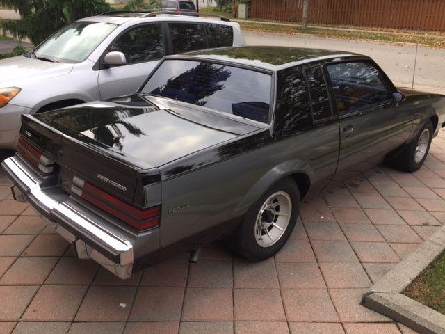 1986 Buick Regal T Type Coupe 2 Door 3 8l Grand National
