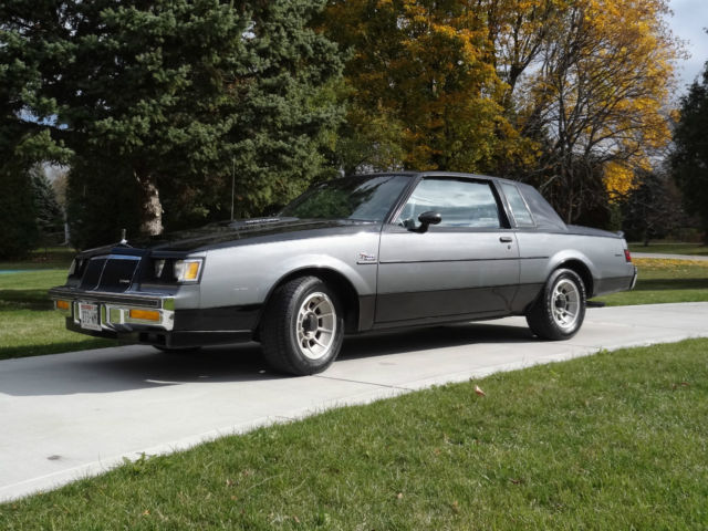 1986 buick regal t type turbo wh1 designer series rare documented grand national classic buick. Black Bedroom Furniture Sets. Home Design Ideas