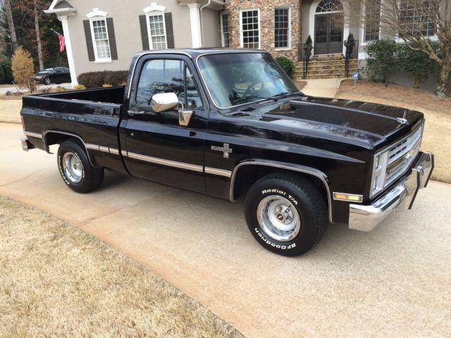 1986 Chevy Silverado Short Bed New Paint Cars Trucks Autos Post