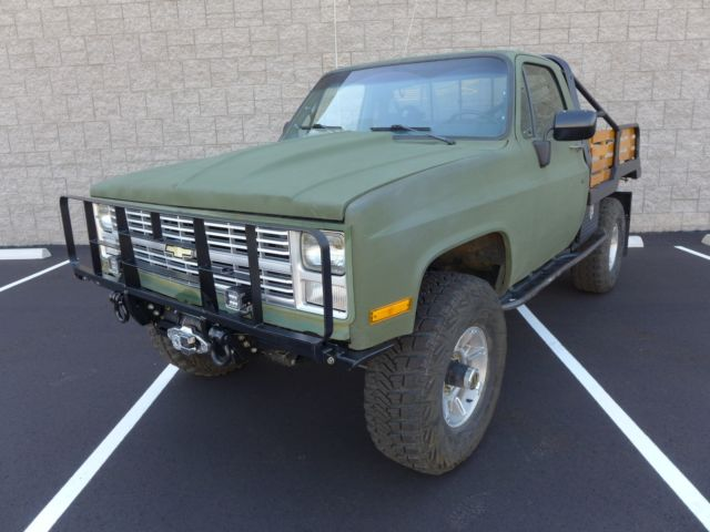 Tempe Used Cars >> 1986 Chevrolet CUCV M1008 Army Military Truck 1.25 Ton K30 ...