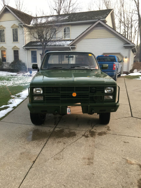 1986 Chevrolet D30 CUCV Military Pickup - Classic Chevrolet Other