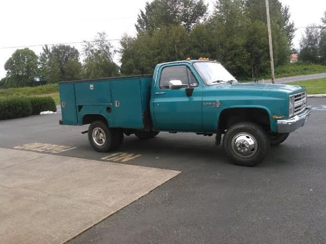 1986 Chevrolet K30 Dually Diesel 4x4 Service Truck Low