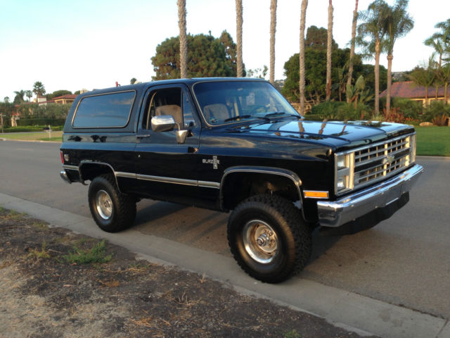 Car Carrier For Sale >> 1986 Chevrolet K5 Blazer Custom Sport Utility 2-Door 5.0L - Classic Chevrolet Blazer 19860000 ...
